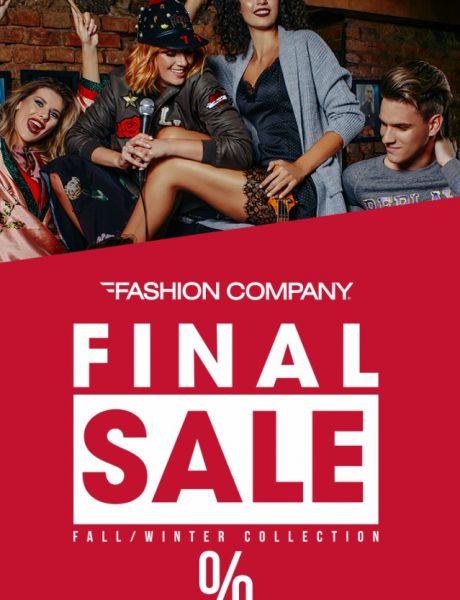 Finalno sniženje u Fashion Company prodavnicama