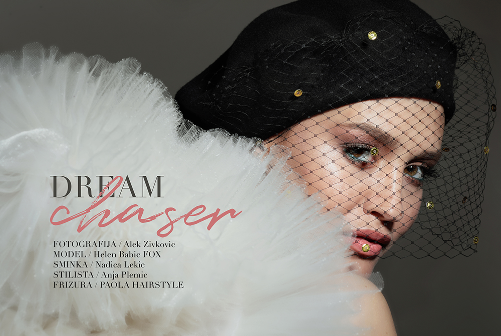 naslovna 11 Beauty editorijal: Dream Chaser