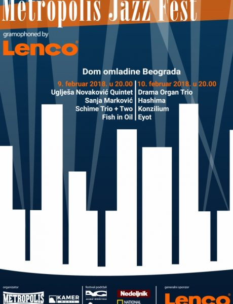 Metropolis Jazz Fest gramophoned by Lenco