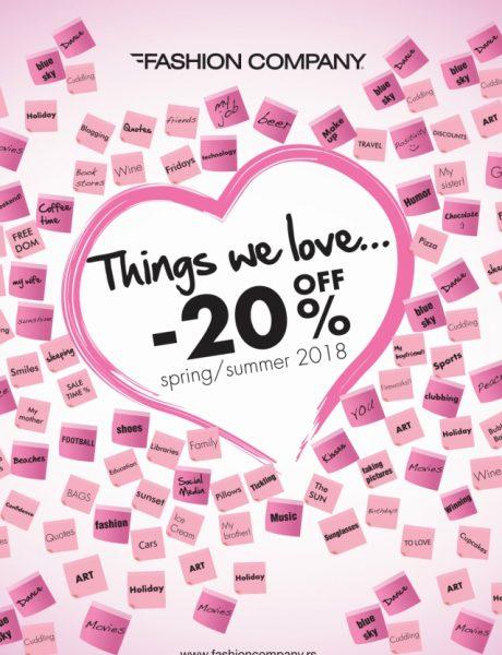 Dan zaljubljenih u Fashion Company prodavnicama