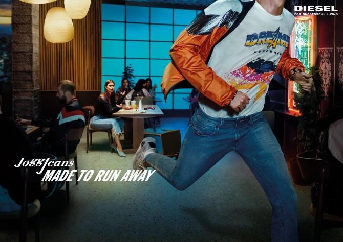 Diesel SS18 JoggJeans campaign MALE Horizontal 1 DIESEL JOGGJEANS kampanja STVORENE ZA BEKSTVO