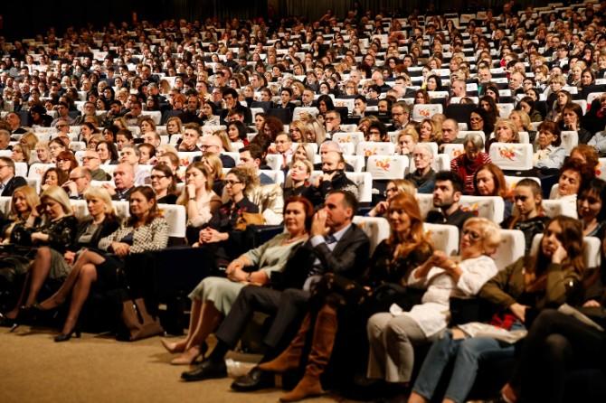 Otvaranje Beogradskog festivala igre u Sava Centru 1 Svečano otvoren 15. Beogradski festival igre