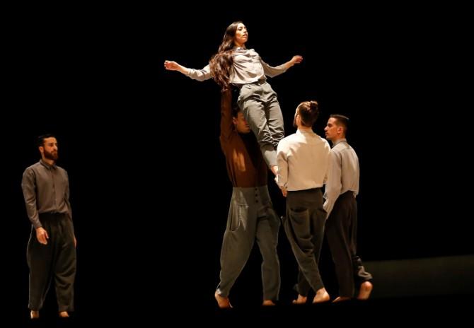 Predstava Jedan jedan i jedan kompanije Vertigo 1 Svečano otvoren 15. Beogradski festival igre