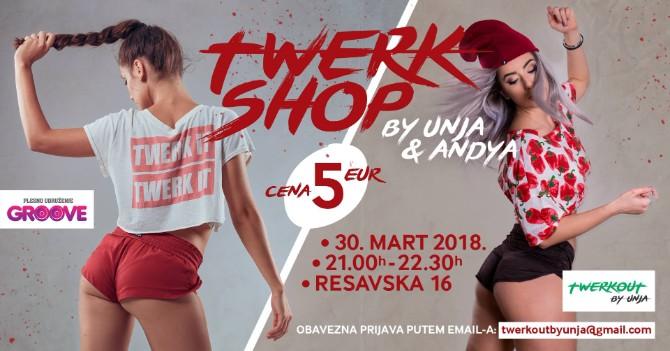 Twerkshop 1 Twerk radionica u Beogradu Twerkshop by Andya & Unja