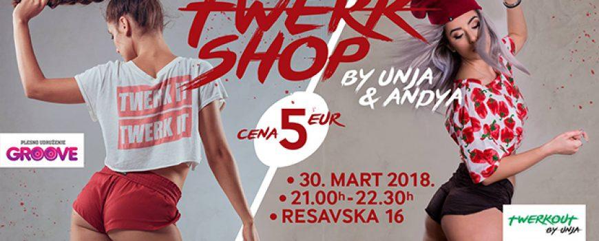 """Twerk radionica u Beogradu """"Twerkshop by Andya & Unja"""""""