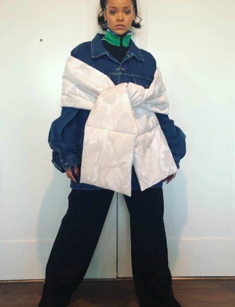 Rihanna : Kako nositi oversize odeću