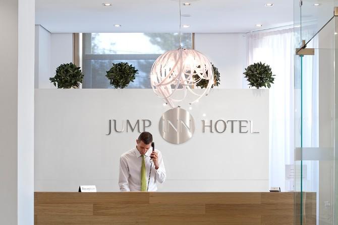 04 Recepcija 1 Jump Inn na vrhu liste preporučenih beogradskih hotela