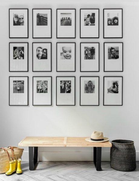 Instagram priča : crno i belo i u enterijer svetu