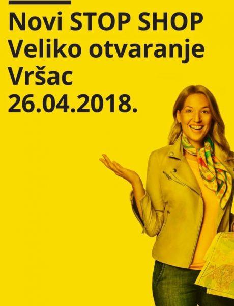Šesti STOP SHOP u Srbiji: Bajaga i Instruktori – zvezde otvaranja STOP SHOP-a u Vršću