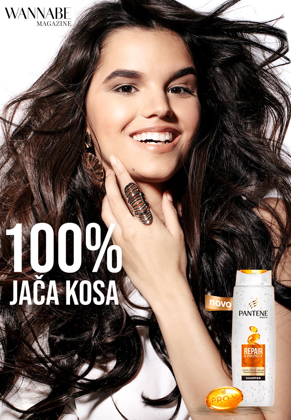 Beauty editorijal: Otkrij njenu tajnu 100% jače kose