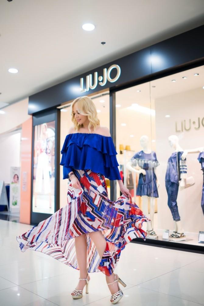 Liu Jo FashionFriends Jelena Rozga SS2018 6 1 Romantično i seksi proleće Jelene Rozge