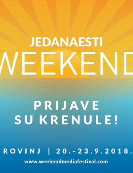 11. Weekend Media Festival od 20. do 23. septembra
