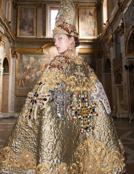 Moda i katolička ikonografija