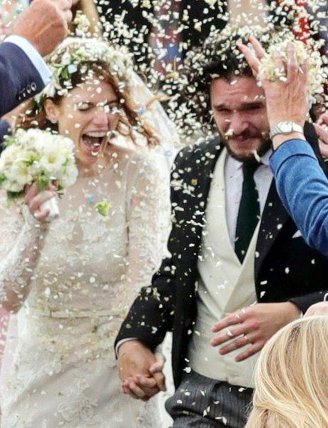 Romantično venčanje Rouz Lesli i Kita Haringtona dokazalo da je srećan kraj u GOT ipak moguć