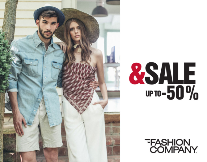 Sezonsko sniženje do 50 u Fashion Company radnjama Sezonsko sniženje do 50% u Fashion Company radnjama!