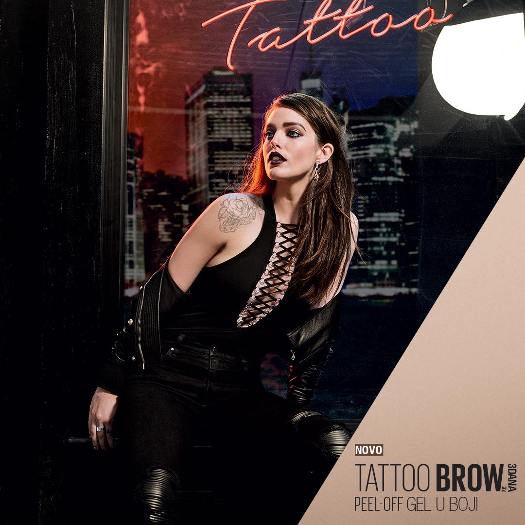 tattoBrow Carousel cro 2 x Letnji beauty trend: Kako da postigneš puniji i smeliji izgled obrva koje izgledaju prirodno