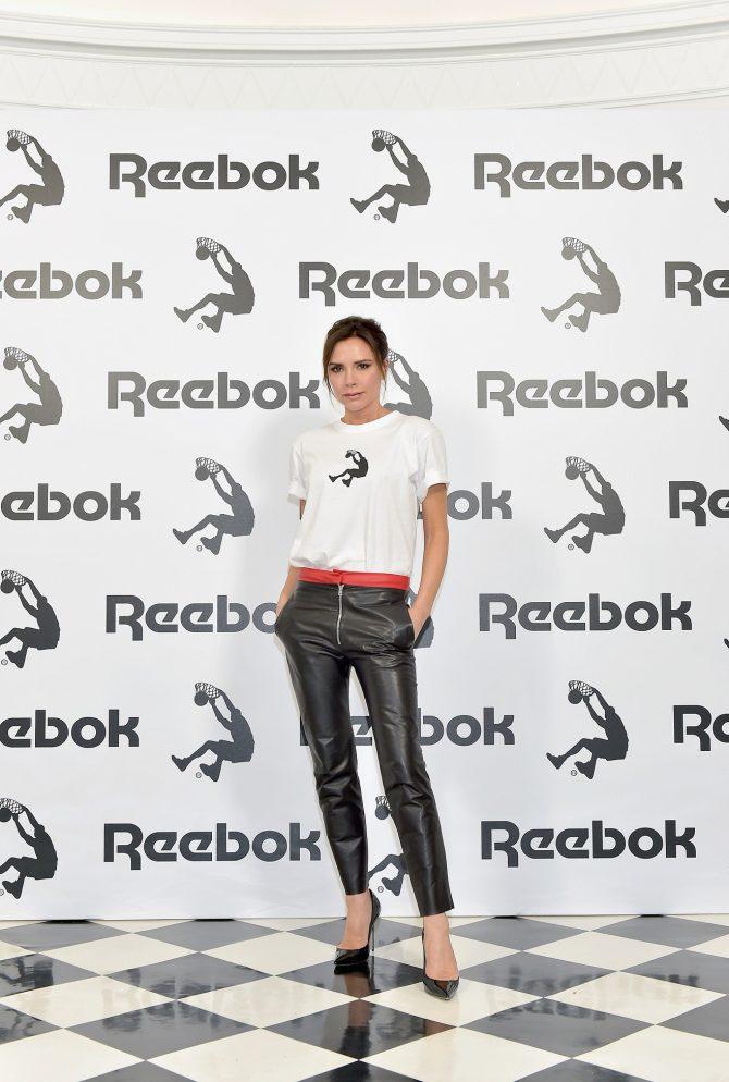 Viktorija Bekam e1533041443441 Otkrivamo: Čija silueta se nalazi na novoj Reebok x Victoria Beckham kolekciji?