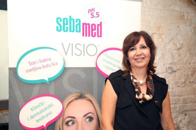 dermatolog Tatjana Đorđević Todorović e1531129181827 Nina Janković novi brend ambasador brenda Sebamed
