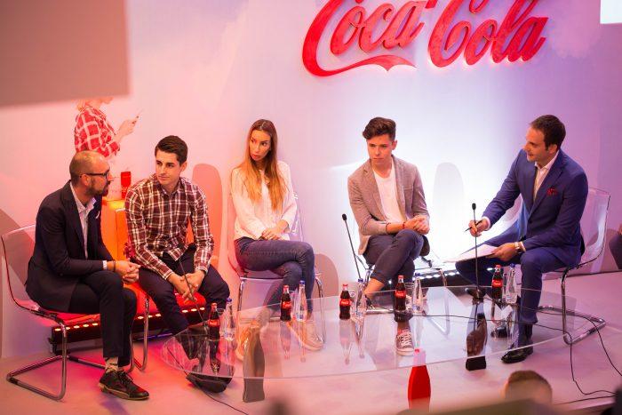 Coca Cola mladima panel sa ucesnicima programa 1 e1534337607320 Podrška za uspešnu karijeru