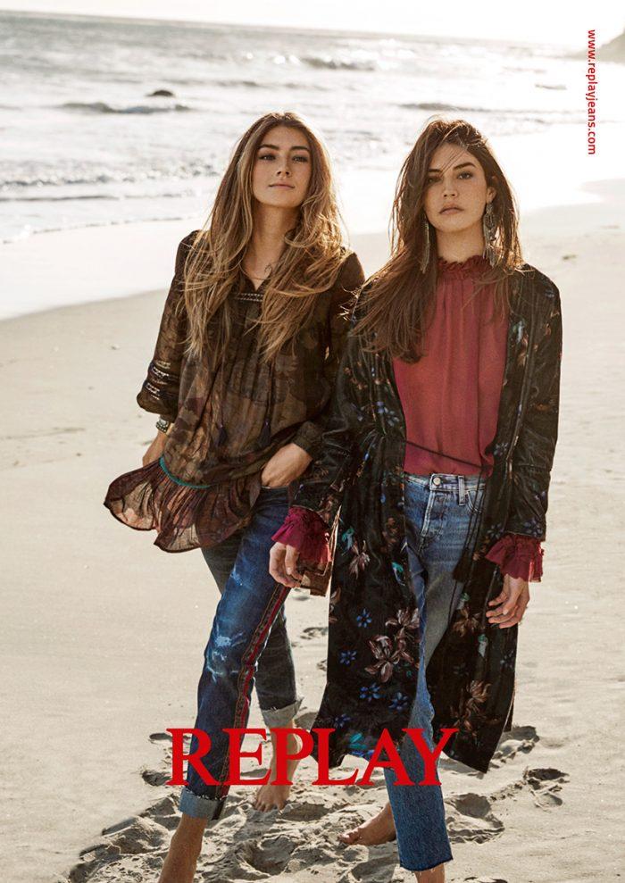 GIRLS SINGLE PAGE LR e1534457960692 Aktivne devedesete u L.A.   Nova REPLAY kolekcija nas vraća u poslednju dekadu XX veka