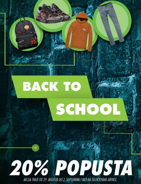 BACK TO SCHOOL: Pripremi se za novu školsku godinu u Fashion Company radnjama