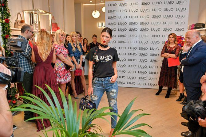 2018 09 14 19 42 26DSC 1797 e1537187645456 Svečano otvorena radnja italijanskog premium modnog brenda Liu Jo