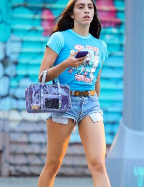 Sada je i Madonina ćerka model, a njena prva revija će definitivno ostati upamćena!