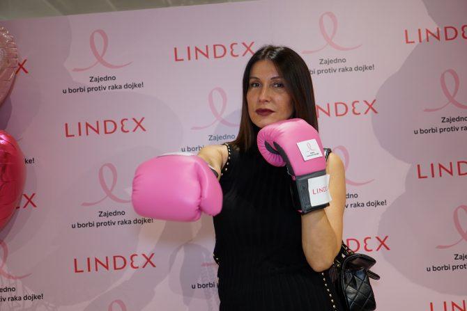 3. Snežana Dakić e1540392243663 Lindex sa svojim kupcima nastavlja zajedničku borbu protiv raka dojke