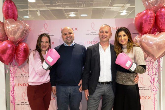 5. Lekari IORS i predstavnice kompanije Lindex e1540392187246 Lindex sa svojim kupcima nastavlja zajedničku borbu protiv raka dojke