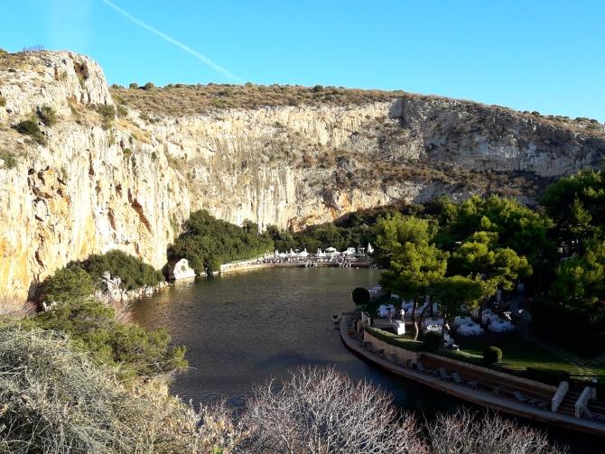 7. jezero vouliagmeni 1 Atina, grad za aktivni odmor