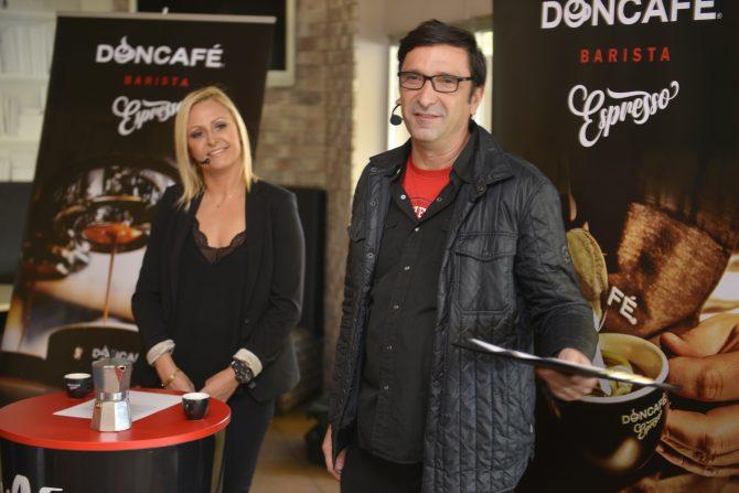 Dragan Ilić i Svetlana Božović e1538639082508 STRAUSS ADRIATIC promovisao DONCAFÉ BARISTA ESPRESSO