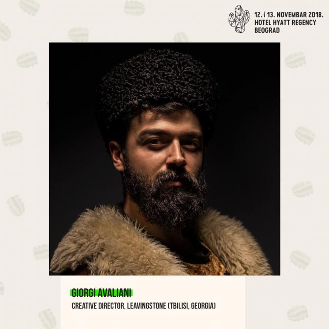 Giorgi Avaliani e1540890382674 Najbolji svetski kreativci i komunikatori na festivalu #KAKTUS2018