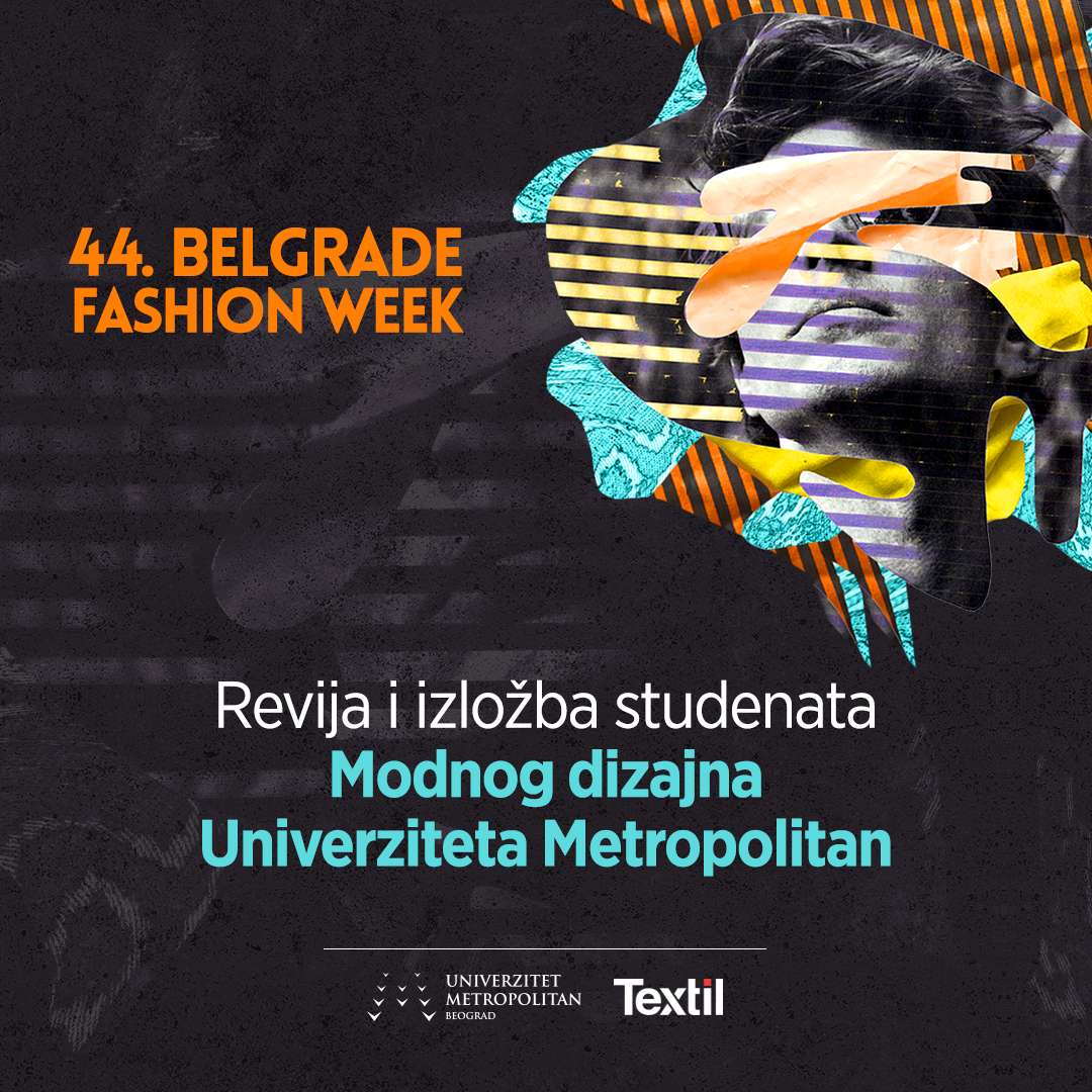 Instagram post Modni dizajn Univerzitet Metropolitan Studenti Modnog dizajna Univerziteta Metropolitan na 44. Belgrade Fashion Week u