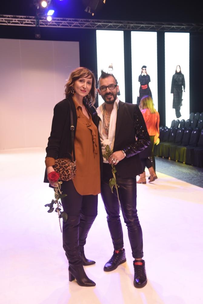 valentina obradovic i bojan bozic 1 Srpski modni brendovi i samostalni autori otvorili Beogradsku nedelju mode