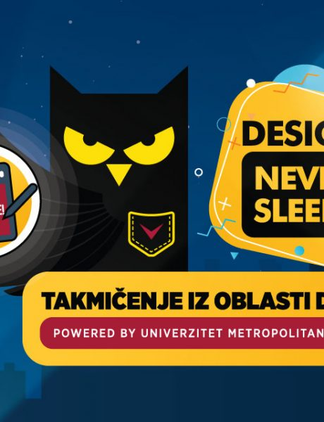 Design never sleeps: Prvi dizajnerski hakaton u Srbiji powered by Univerzitet Metropolitan & Guarana