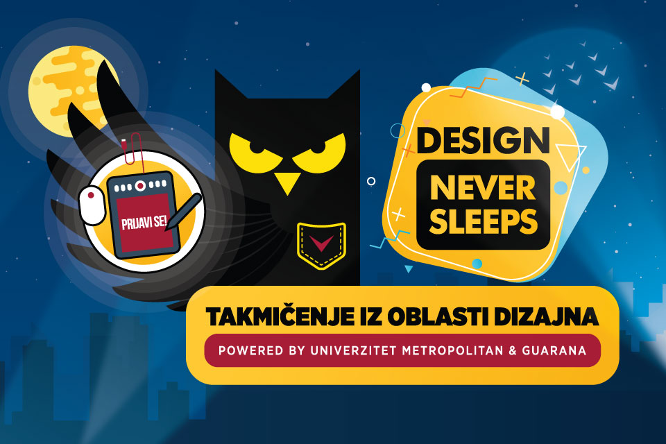 Guarana takmicenje Univerzitet Metropolitan Foto Design never sleeps: Prvi dizajnerski hakaton u Srbiji powered by Univerzitet Metropolitan & Guarana