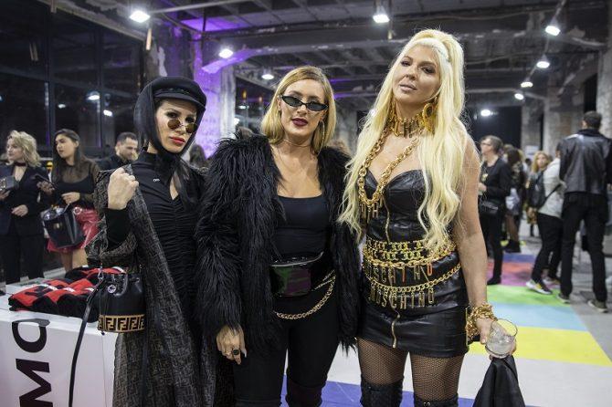Jelena Karleusa Nikolija Senidah e1541172104995 Ekskluzivno predstavljena kolekcija MOSCHINO [TV] H&M