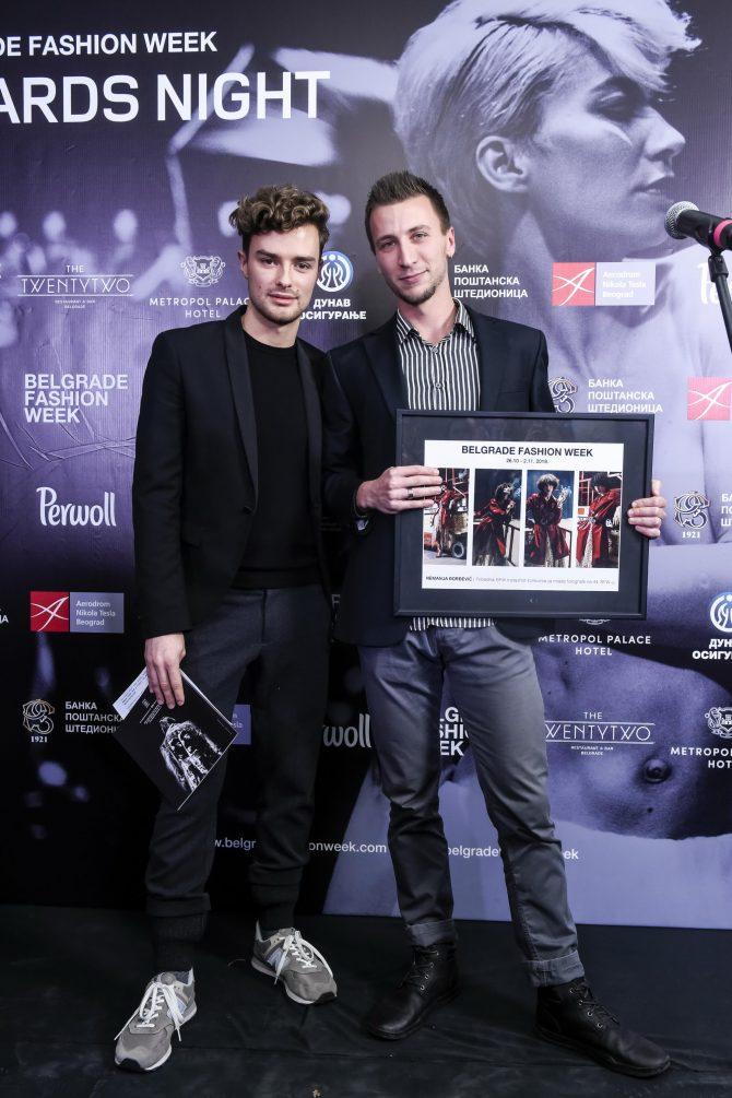 Nemanja Djordjevic BFW Instashot e1542285411601 Uručene nagrade 44. Belgrade Fashion Week a