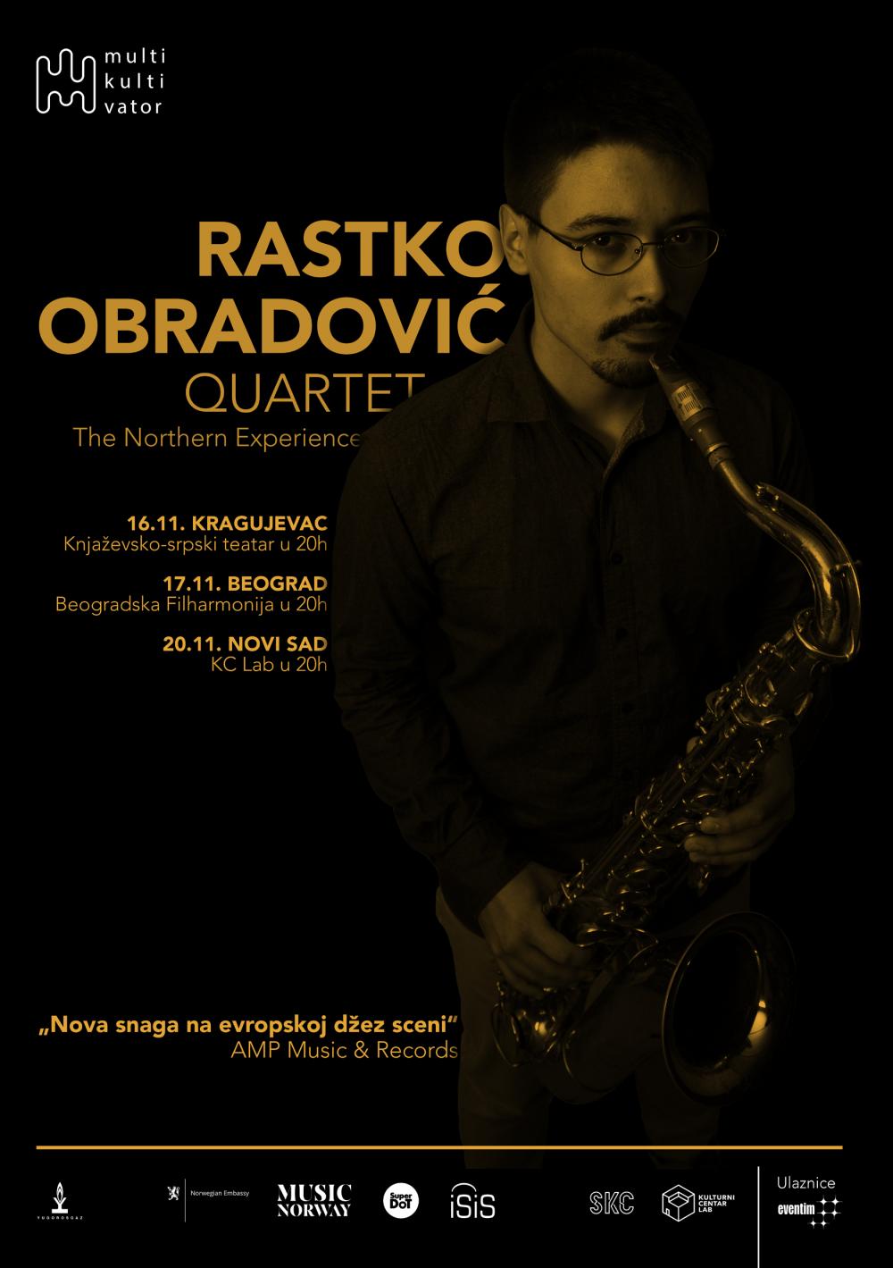 ROQ A5 front e1541162929869 Koncert kvarteta saksofoniste Rastka Obradovića u Beogradskoj filharmoniji