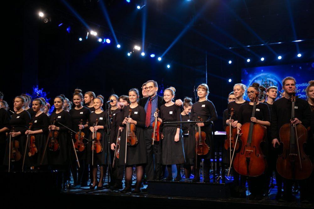 Održan još jedan tradicionalni Novogodišnji gala koncert Dečje filharmonije