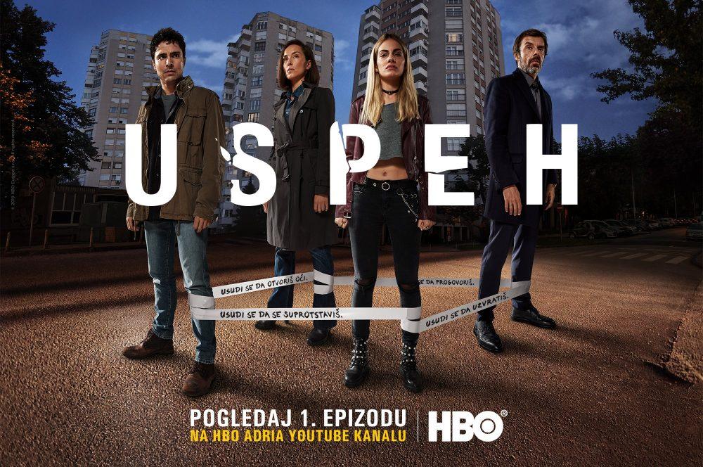 USPEH e1545922092819 HBO iznenađenje za praznike: Prva epizoda serije Uspeh od danas može da se pogleda na YouTube u