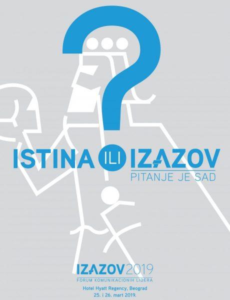 Forum #IZAZOV2019 25. i 26. marta u Beogradu!
