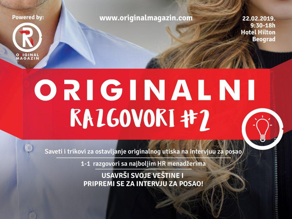 """Originalni razgovori 2 e1549268419929 Magazin Original i Fondacija Novak Đoković: Otvorene prijave za konferenciju """"Originalni razgovori"""""""