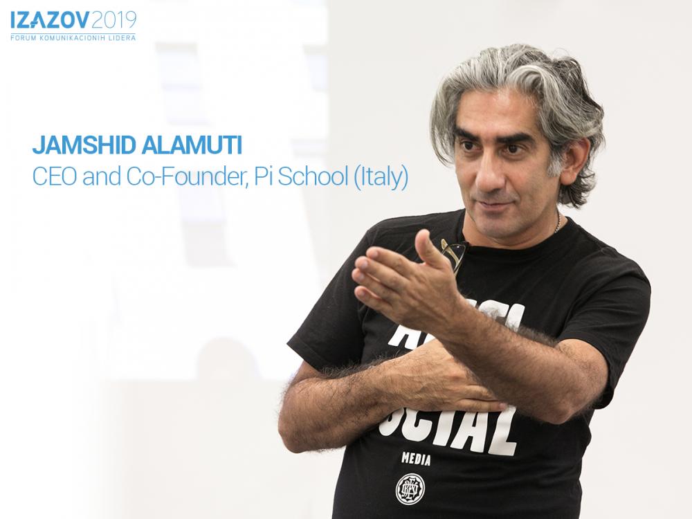 Jamshid Alamuti keynote e1551790037194 Kreativnost će se u budućnosti koristiti za rešavanje problema, a ne za prodaju robe!