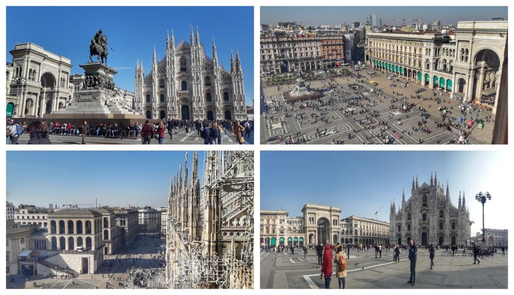trg 1 Milano: Više grada, manje mode