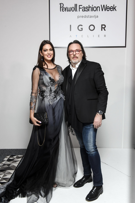 1. Nina Radulovic Igor Todorovic Perwoll Fashion Week otvoren revijom Igora Todorovića