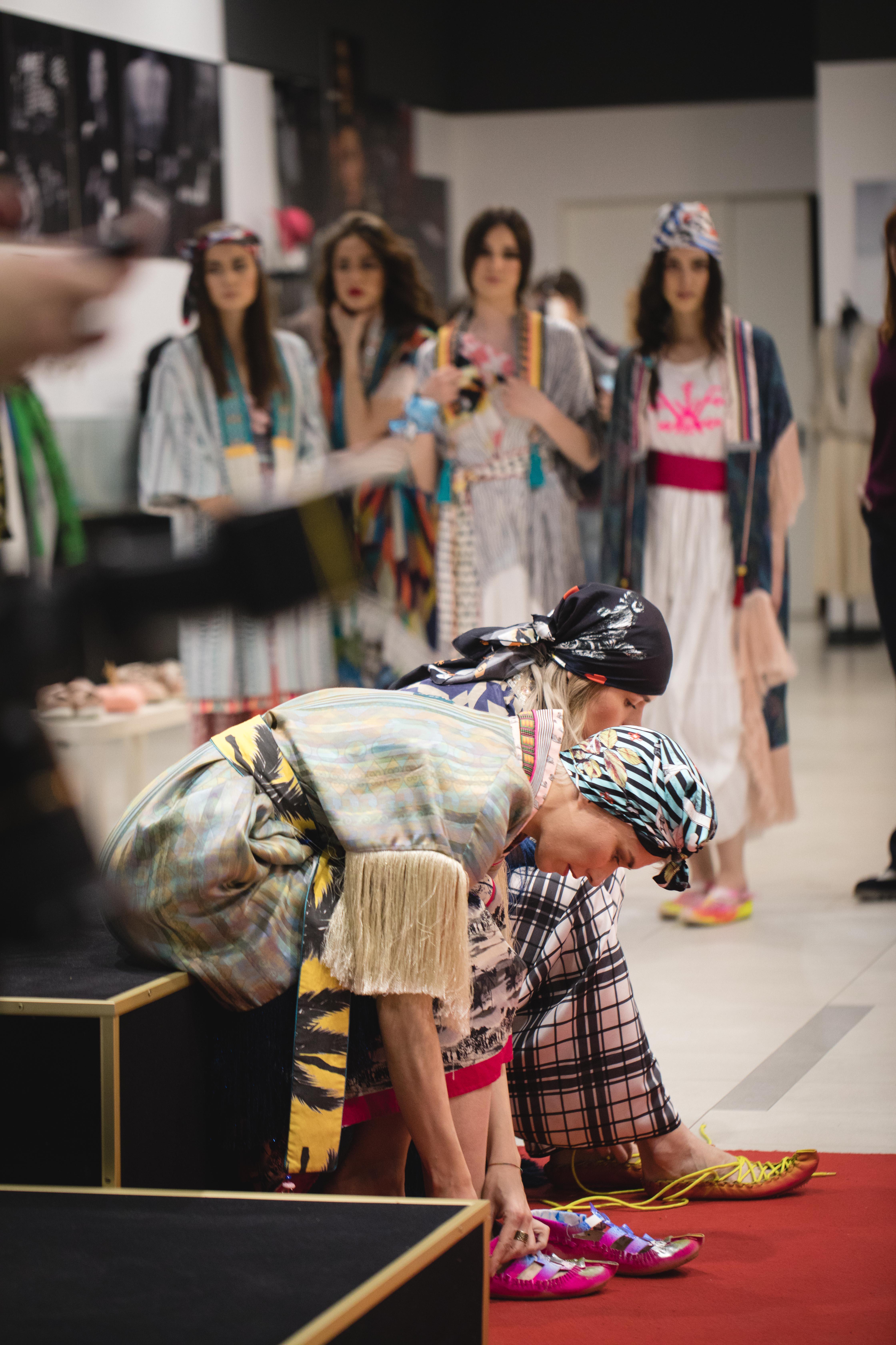 Andrej Mihailovic Gerila 12 Perwoll Fashion Week: Otvorena izložba A New Beginning