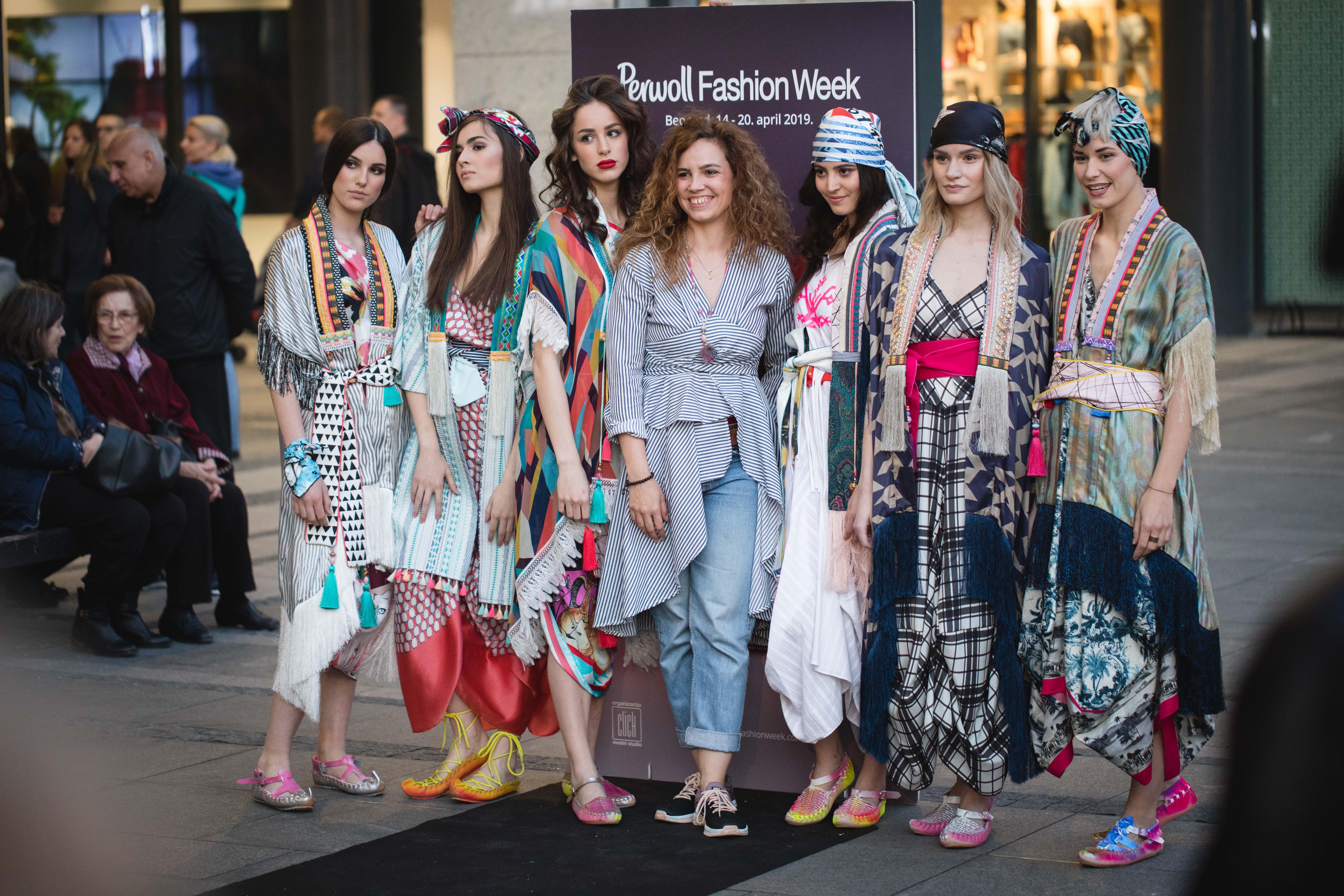 Andrej Mihailovic Gerila 8 Perwoll Fashion Week: Otvorena izložba A New Beginning