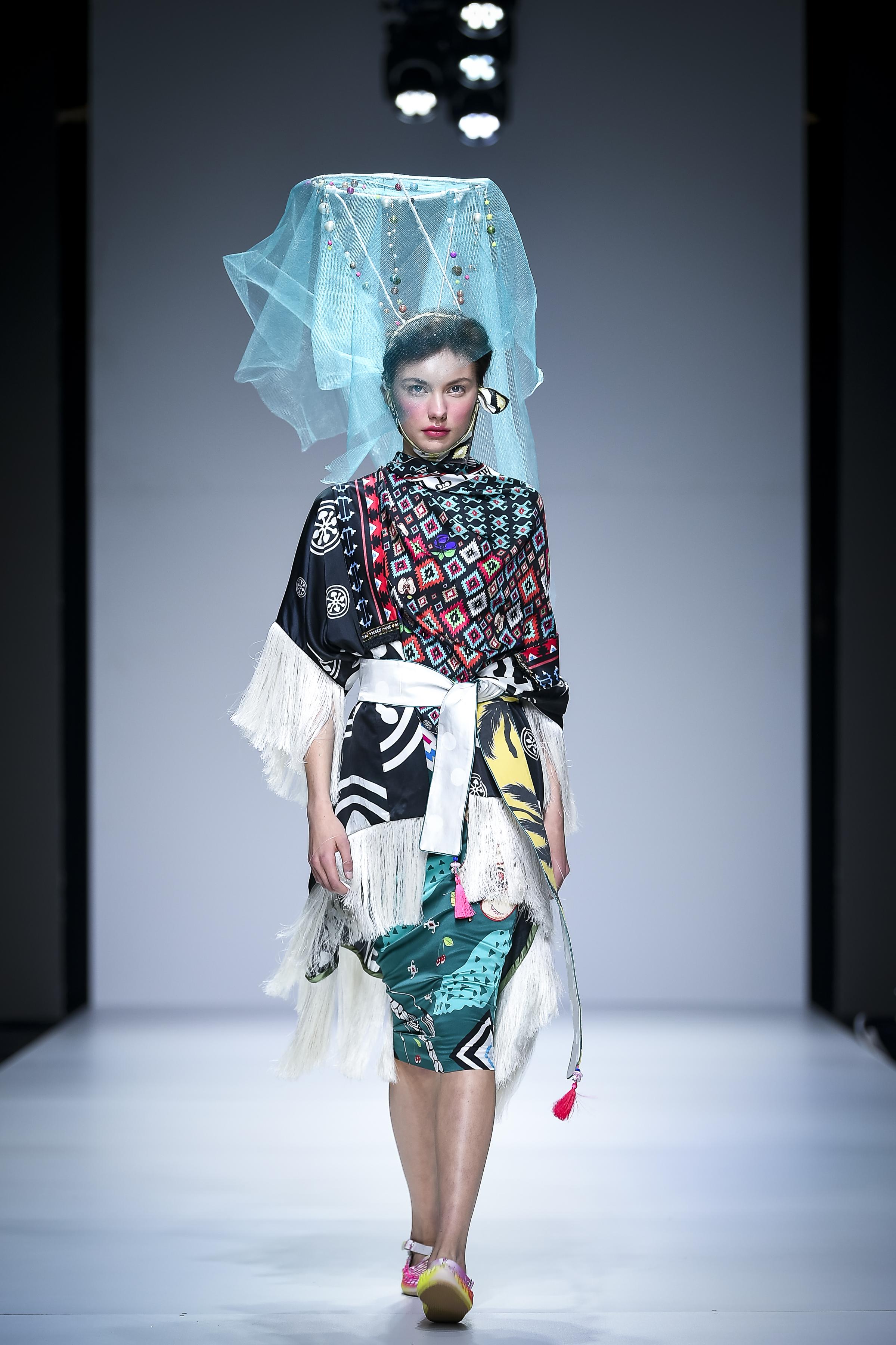 LJFW apr19 Day1 photoJureMakovec 210 Gala Borović pobednica Fashion Scout SEE konkursa