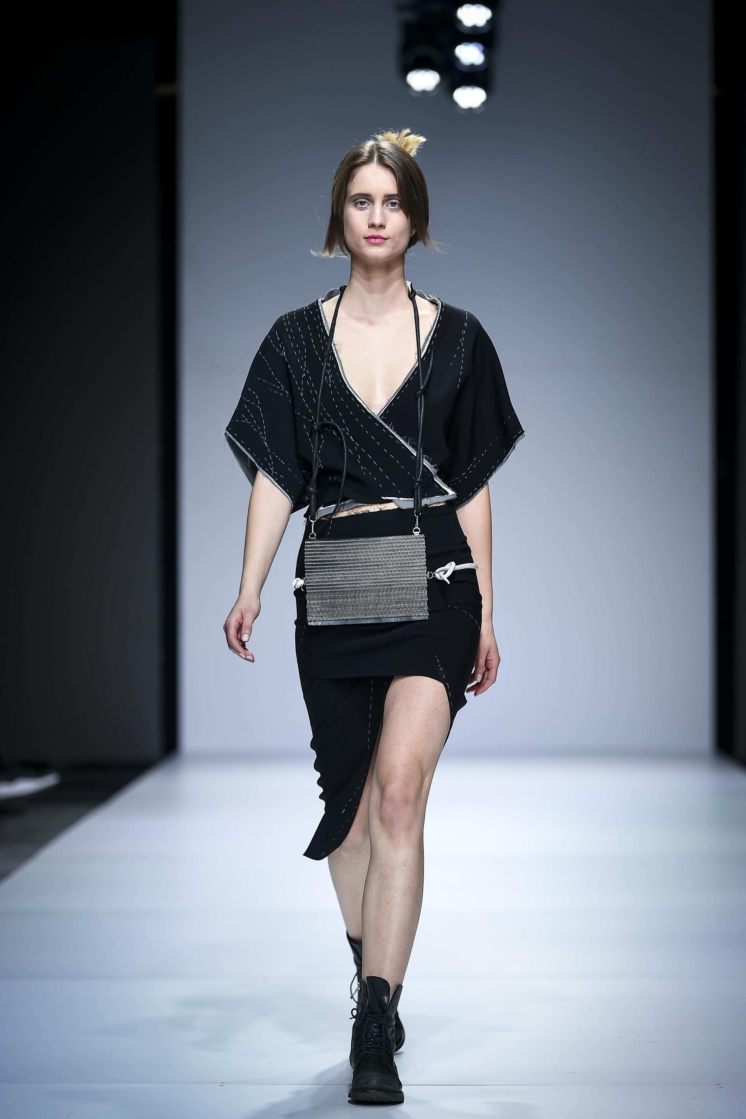 LJFW apr19 Day1 photoJureMakovec 260 Gala Borović pobednica Fashion Scout SEE konkursa
